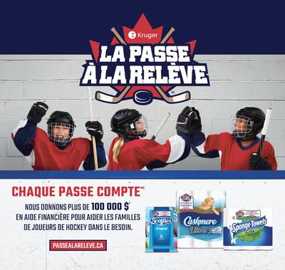 On invite les amateurs canadiens de hockey mineur à mettre en candidature leur association de hockey mineur préférée pour la #PasseALaRelevedeKruger à PasseALaReleve.ca (Groupe CNW/Kruger Products L.P.)