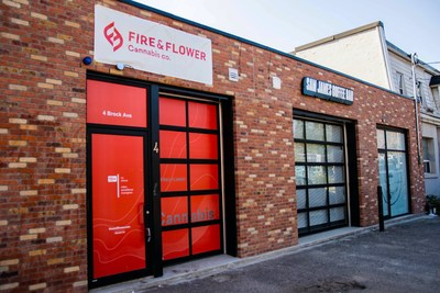 Fire & Flower - Toronto Parkdale Location - (c) 2020 Fire & Flower Holdings Corp. (CNW Group/Fire & Flower Holdings Corp.)