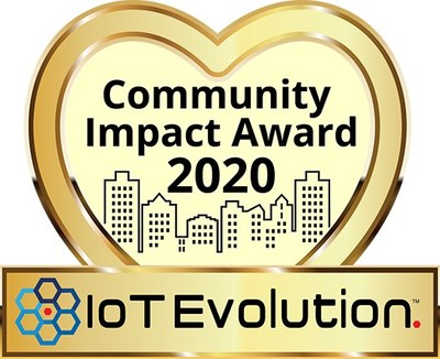 IoT Evolution Community Impact Award 2020