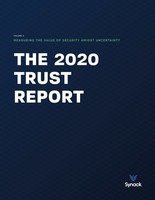 The 2020 Trust Report is Synack's essential guide for CISOs and CIOs, executives and other security professionals to understand how different industries and sectors of the economy measure up when it comes to security preparedness.