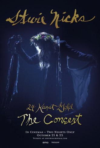 Stevie Nicks 24 Karat Gold The Concert - Official Poster - In Cinemas October 21 & 25