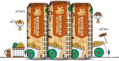 Waterloo Salted Caramel Porter (CNW Group/Waterloo Brewing Ltd.)