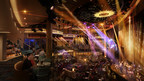 Mardi Gras Grand Central Atrium:  Form Meets Function Aboard Carnival Cruise Line's Most Innovative Ship