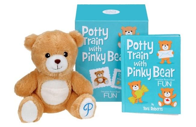 Potty Train with Pinky Bear® Potty-Training Kit