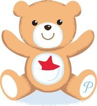 Potty Train with Pinky Bear® Logo