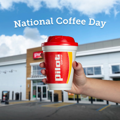 Pilot Flying J is 'Spilling the Beans' on National Coffee Day with Free Coffee for Guests