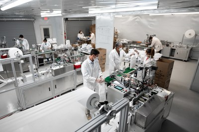 United Sewing Automation manufactures USA-sourced face masks in Mt. Airy, N.C.