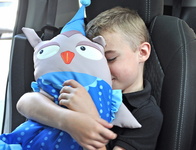 Pillowkins are fun, brightly designed pieces that combine a pillow with a plush animal, creating that perfect, comforting buddy that can go anywhere.