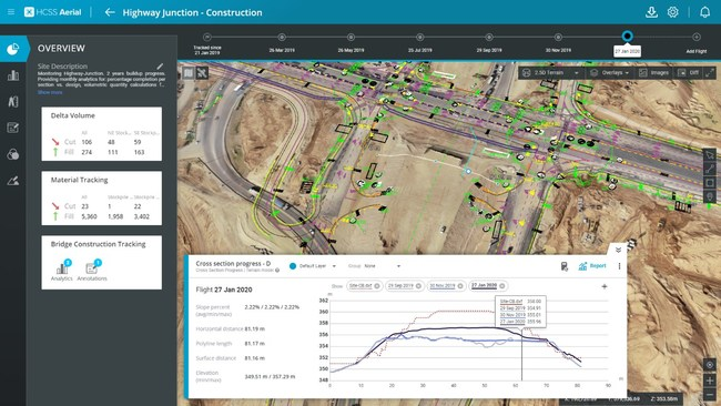 Collect aerial survey data, create high-quality 3D models, and access data visualization and measurement tools across the project lifecycle for better decisions.