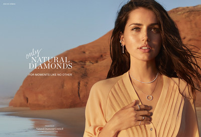Ana de Armas for The Natural Diamond Council campaign
