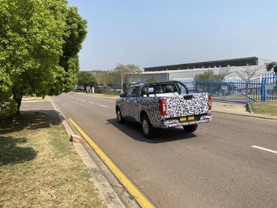 Camouflaged GWM P series Pickup Trucks Spotted in International Markets