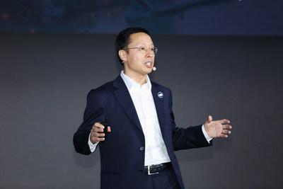 Discurso de Richard Jin, presidente da Linha de Produtos de Transmissão e Acesso da Huawei (PRNewsfoto/Huawei)