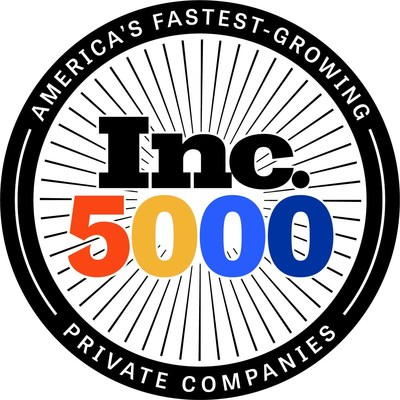 Ascendia ranks on the Inc. 5000 - the annual list of the nation's fastest- growing private companies.