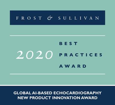 2020 Global AI-based Echocardiography New Product Innovation Award