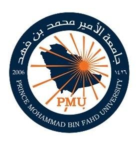 PMU Logo (PRNewsfoto/pmu.edu.sa (Prince Mohammad Bin Fahd University))