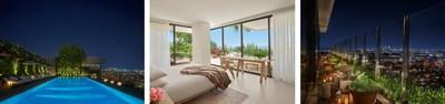 [L-R: The Pool, Superior Villa Suite, The Roof at EDITION - credit Nikolas Koenig]