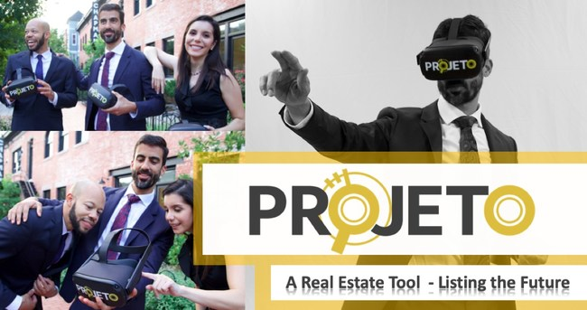 PROJETO, a real estate tool used to show the future.