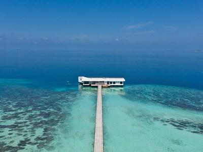 O MURAKA - a primeira residência submarina do mundo na Conrad Maldives Rangali Island (PRNewsfoto/Hilton)