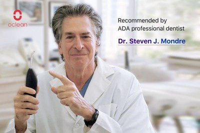 Oclean W1 is recognized by an ADA professional dentist