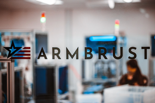 Armbrust American's Austin-TX area medical mask production facility. Photo by Alex Smith.