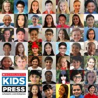 """Scholastic Kids Press Chooses 45 Kid Reporters to Cover """"News for Kids, By Kids"""""""