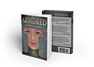 Front and back cover of ARMORED book.