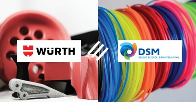 Würth Industry North America Signs Agreement To Nationally Distribute DSM 3D Printing Material Solutions