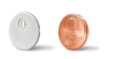 Abbott's FreeStyle Libre 3 system features the world's smallest and thinnest wearable glucose sensor, which is about the size of two stacked U.S. pennies.
