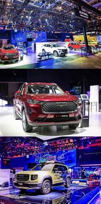 GWM présente la troisième génération de son modèle caractéristique HAVAL H6 et le HAVAL Darou à Auto China 2020. (PRNewsfoto/GWM)