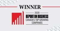 Freightera wins placement among Canada's Top Growing Companies according to The Globe and Mail 2020 Report on Business.