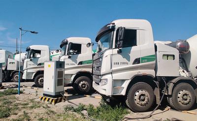 Camions malaxeurs électriques à batterie SANY
