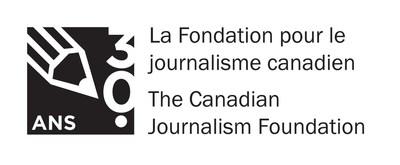 Logo de La Fondation pour le journalisme canadien (Groupe CNW/La Fondation pour le journalisme canadien)