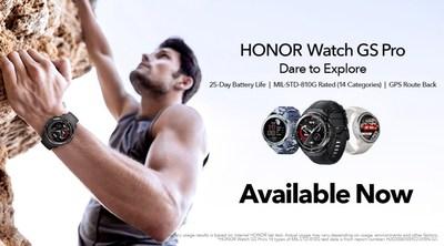 HONOR Watch GS Pro _ Dare to Explore