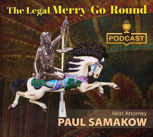 The Legal Merry Go Round logo