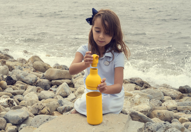 Buoy Bottle has an easy to use 3 part design.