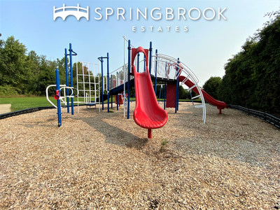 Among the improvements made by Havenpark Communities to Springbrook Estates is this new playground.