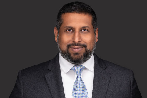 Headshot of Vilas S. Dhar, new president of The Patrick J. McGovern Foundation