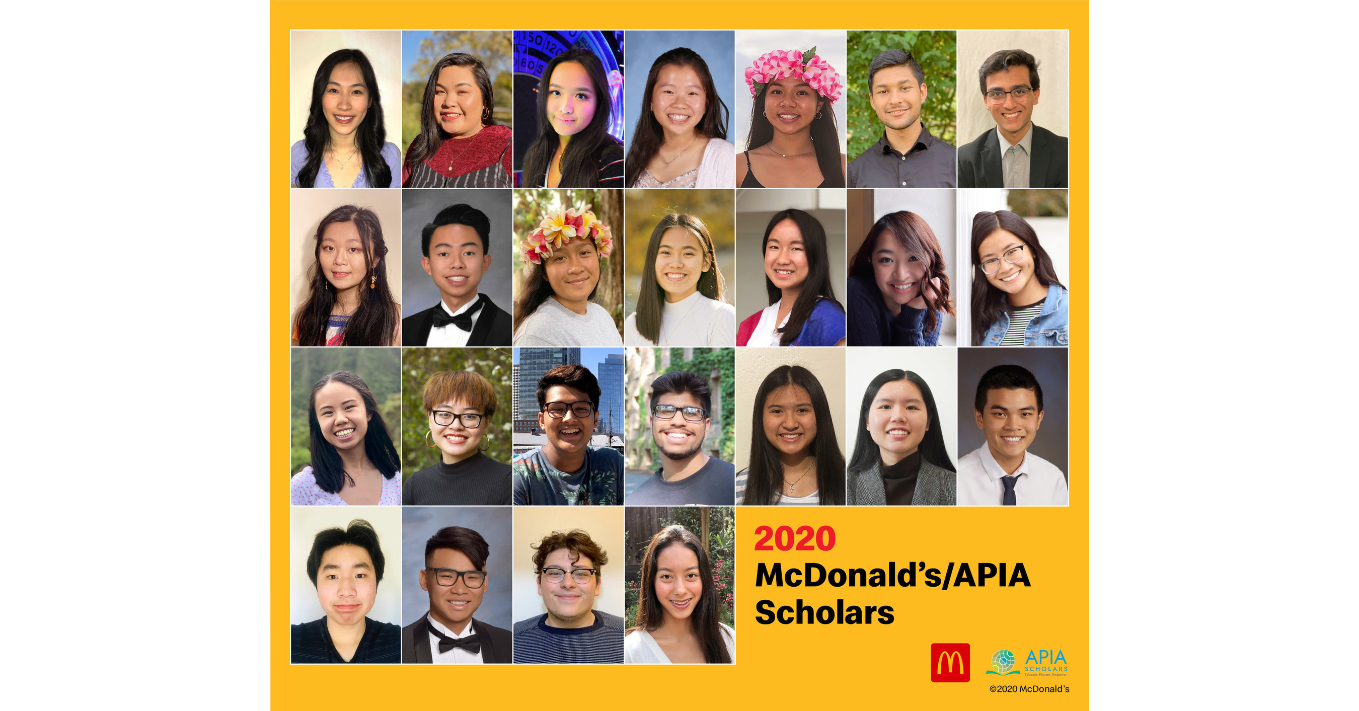 www.prnewswire.com: McDonald's/APIA Scholarship Program Awards A Half A Million Dollars In Scholarships To Help Asian And Pacific Islander American Students Attend College