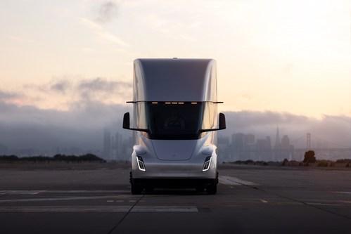 Tesla Semi Truck (CNW Group/Walmart Canada)