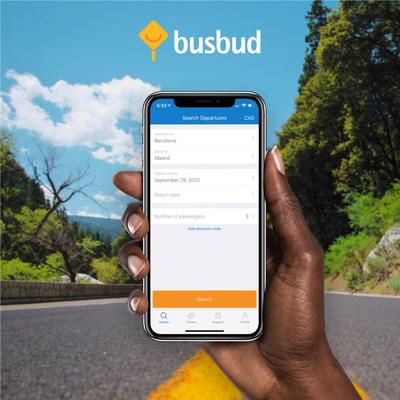 Busbud app (CNW Group/Busbud)