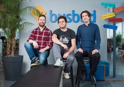 Busbud founders (CNW Group/Busbud)