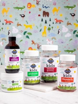 Garden of Life new immune-centric children's line