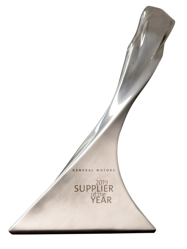 BorgWarner was named a GM Supplier of the Year by General Motors during a virtual ceremony honoring the recipients of the company's 28th annual Supplier of the Year awards.