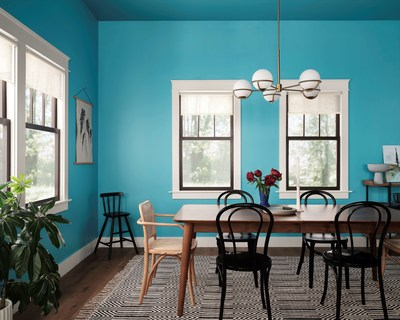Available exclusively at Lowe's, the designer-inspired Color Collection of the Year includes 10 complementary colors that are influenced by experiences, virtual and real to create a reveal-worthy style that all HGTV fans desire.
