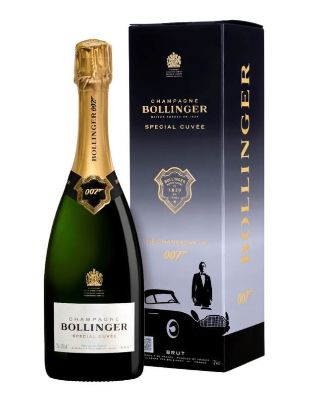 BOLLINGER SPECIAL CUVÉE 007 LIMITED EDITION GIFT PACK