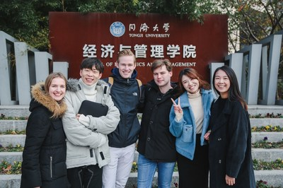 Students of Tongji SEM's Master in Management program