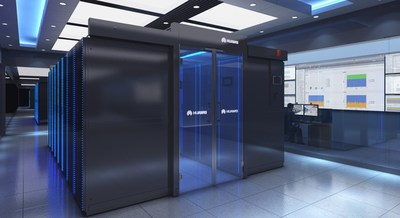 Data Center Modular Inteligente FusionModule2000 da Huawei.