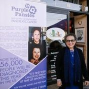 Founder of Purple Pansies, Maria Fundora, at 11th Annual Gala