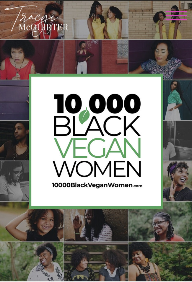 10,000 Black Vegan Women officially launches on October 5, 2020.
