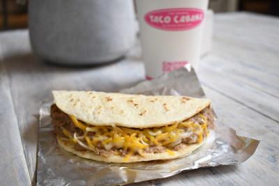 Bean and Cheese taco at Taco Cabana